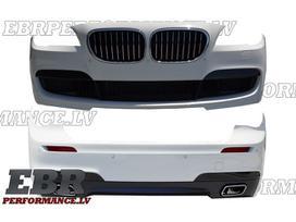 BMW 7 serija bamperių pastiprinimai, bamperiai, slenksčiai