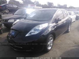 Nissan Leaf. Pagrindines baterijos nera