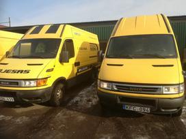 Iveco Daily, Грузовые микроавтобусы