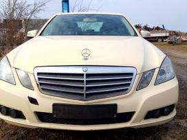 Mercedes-benz E klasė. Mercedes w212 dalimis.
