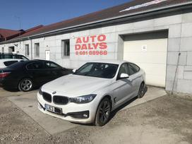 BMW 320 Gran turismo. X drive odinis salonas