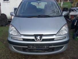 Peugeot 807. Pezo 807 2,2hdi.pilnas salonas