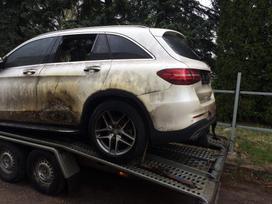 Mercedes-benz Glc klasė. Lietuviška registracija.