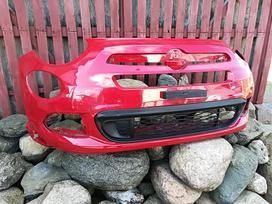 Fiat 500x. Priekinis bamperis [raudonas su ap