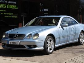 Mercedes-Benz CL500, 5.0 l., sedanas