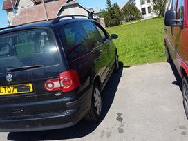 Volkswagen Sharan. Ardomas dalimis,turime platu pasirinkimą