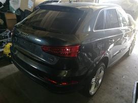 Audi Q3 по частям. Turimas šio automobilio detalių kainas ir