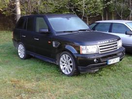 Land Rover Range Rover Sport. Variklis yra