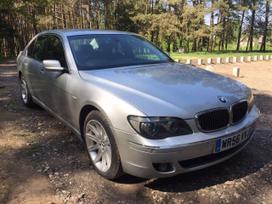 BMW 730. Detales siunciame y kitus miestus
