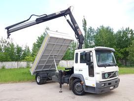 Volvo TRIPUSIS, BLOKIRUOTĖ, GREIFERIS JUNGIASI, dumpers with crane