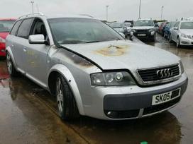 Audi Allroad dalimis. Automobiliu detales