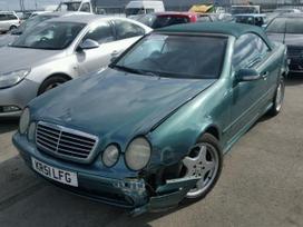 Mercedes-benz Clk klasė dalimis. Automobiliu
