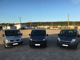 Opel VIVARO, Пассажирские микроавтобусы