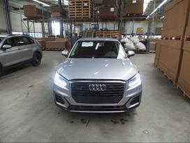 Audi Q2. Automobilis dalimis. odinis salonas