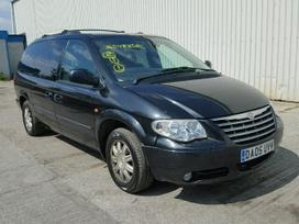 Chrysler Grand Voyager dalimis. Automobiliu
