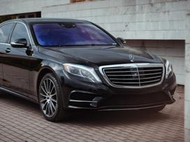 Mercedes-benz S550, 4.7 l., sedanas