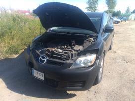 Mazda Cx-7. Ka tik pradeta ardyti usa, dalis