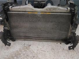 Citroen C5 variklio aušinimo detalės