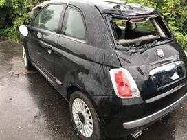 Fiat 500 dalimis. Fiat 500 1.2i avtamat, vse