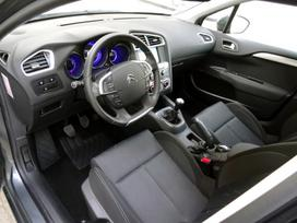 Citroen C4 apdailos detalės, sėdynės, saugos
