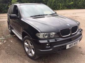 BMW X5 dalimis. Detales siunciame y kitus miestus
