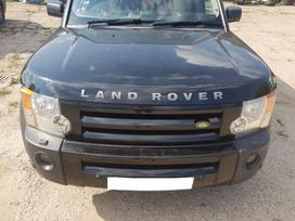 Land Rover Discovery dalimis. Detales