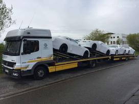 Automobilių ir krovinių gabenimas iš Europos