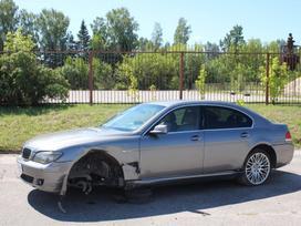 BMW 7 serija по частям. E65 745d 2006m dalimis, platus naudotų