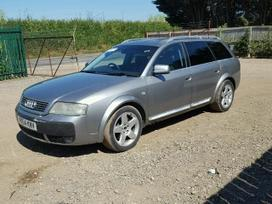 Audi A6 Allroad. Naudotos automobilių dalys,