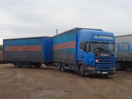 Scania 6x2, užuolaidiniai / tentiniai