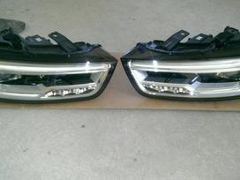 Audi Q3. Europiniai,tusti led zibintai