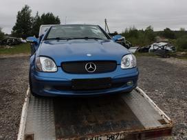 Mercedes-benz Slk200 dalimis. Detalių