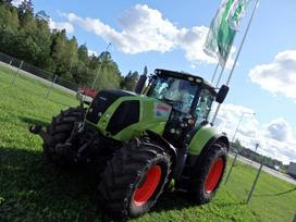 Claas Axion 850 Cebis, traktoriai