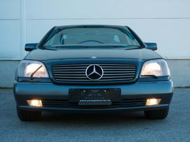 Mercedes-Benz CL600, 6.0 l., sedanas