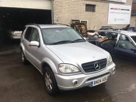 Mercedes-Benz ML270 dalimis. Viskas yra atvaziavo 2018 09 05