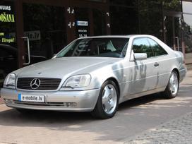 Mercedes-benz S500, 5.0 l., kupė (coupe)
