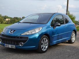 Peugeot 207, 1.6 l., hečbekas