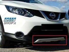 Nissan Qashqai. Priekinio bamperio difuzorius