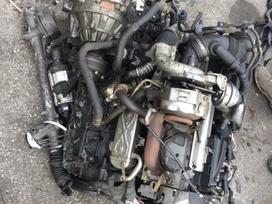 Volkswagen Caddy. Tik variklis, sankaba  ir dalys aplink varikli