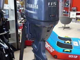 Yamaha F115, keturtakčiai pakabinami