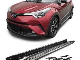 Toyota C-hr. Nauji slenksciai  gamintojas