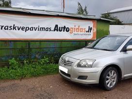 Toyota Avensis. Galimas detalių persiuntimas
