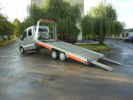 Renault Master, road train rental