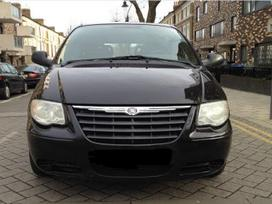 Chrysler Town &amp Country dalimis. Kėbulo