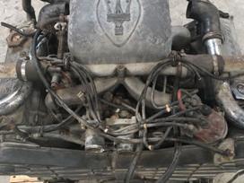 Maserati -kita- variklio detalės