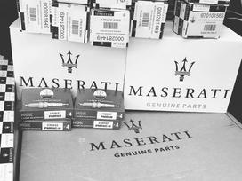 Maserati Grancabrio dalimis. Originalios