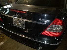 Mercedes-benz E klasė. Dalis siunciu