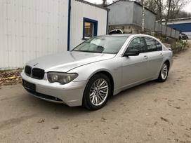 BMW 730. Labai gera komplektacija  naudotos automobilių dalys