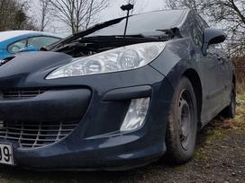 Peugeot 308 dalimis. Visi agregatai sveiki  platus pasirinkimas