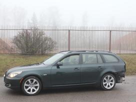 BMW 5 serija dalimis. E61 535xi 2008m. dalimis ccc navigacija,